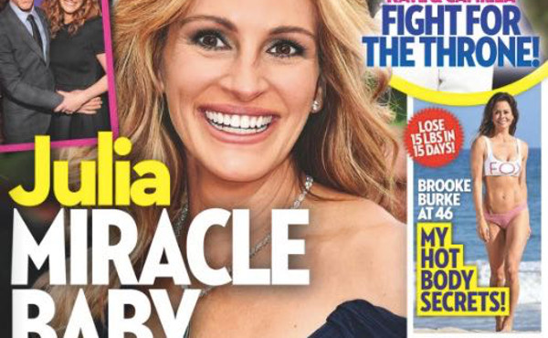Julia Roberts « bébé miracle » à 50 ans ? (photo)